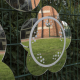 Miroir à dessin marguerite extérieur