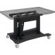 Support élévateur électrique de type table basse sur roulettes Smart Metals
