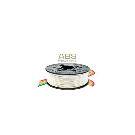 Blanc - bobine de filament ABS, pour Da Vinci 1.0 Pro, 600g