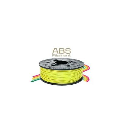 Jaune clair - Bobine de filament ABS, pour Da Vinci 1.0 Pro, 600g