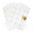 Beebot / Bluebot Lot de 30 Tapis Quadrillés Vierges