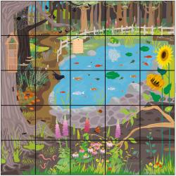 BeeBot / Bluebot Tapis Jardin Sauvage