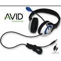 Pack Education de 12 casques Audio AVID AE-55 USB