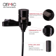 Microphone à double tête omnidirectionnel
