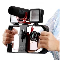 Support smartphones pour la réalisation de vidéos