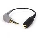 SC4 Câble jack TRS 3,5mm femelle - Jack TRRS 3,5mm mâle