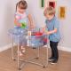 Table circulaire pour jeu de sable et d'eau