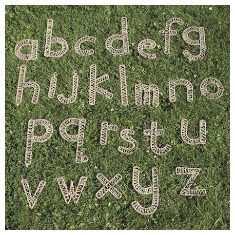 Alphabet tressé