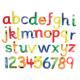 Lettres et chiffres souples et pailletés