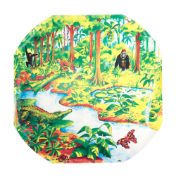 Tapis Jungle Active World