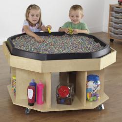 Table en bois Active World