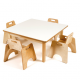Table carrée pour tout-petits
