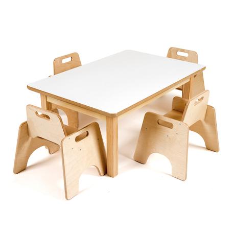 Table rectangulaire pour tout-petits