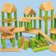 Blocs de construction en bambou