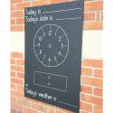 Tableau pour apprendre l'heure
