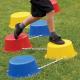 Steps d'équilibre reliés