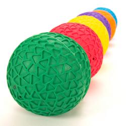 Balles rainurées faciles à saisir