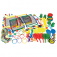 Kit d'équipement multicompétences pour cour de récréation