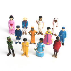 Figurines Enfants du monde