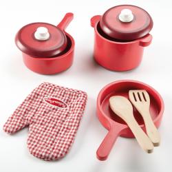 Ensemble d'accessoires de cuisine en bois