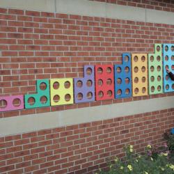 Cadres à numéros géants pour l'extérieur