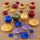 Offre spéciale Galets, anneaux et sphères métalliques
