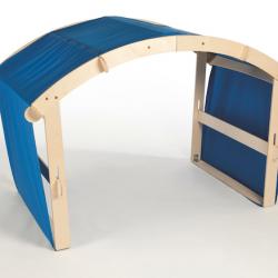 Cabane pliable pour l'intérieur et l'extérieur