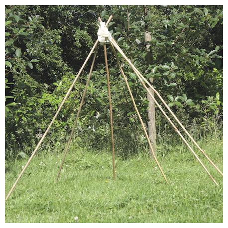 Tiges pour la fabrication de cabanes pack de 20 unités
