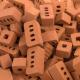 Seau de briques