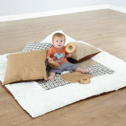 Tapis et coussins texturés pour bébés
