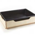 Bac à sable ou à eau en bois pour tout-petits