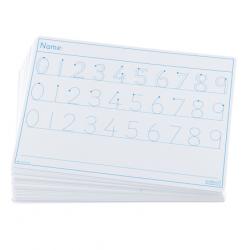 Tableau de traçage des chiffres de 0à9