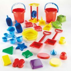 Lot d'outils de jeu de sable