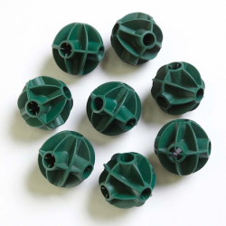 Balles flexibles pour tiges de cabanes pack de 8 unités