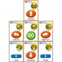 Cartes séquentielles pour robot BeeBot / Bluebot A5