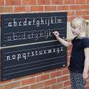 Frise d'extérieur alphabet