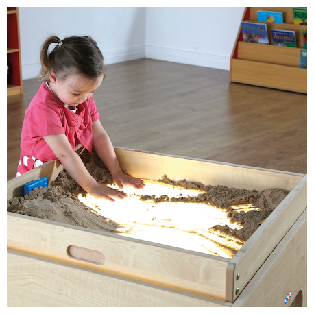 Bac à sable pour boîtier lumineux