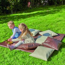 Coussins et tapis de plein air