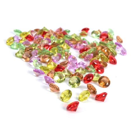 Diamants étincelants à compter