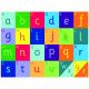 Tapis Alphabet Arc-en-ciel