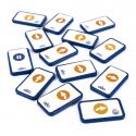 Pack Standard de Cartes Séquentielles Blue-Bot®