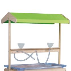 Station pour jeux de sable et d'eau