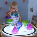 Coupes à potions en plastique pour jeux salissants