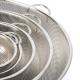 Collection de passoires gigognes en métal