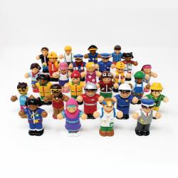 Lot de figurines des personnes du monde WOW