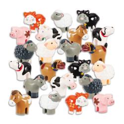 Lot d'animaux de la ferme WOW