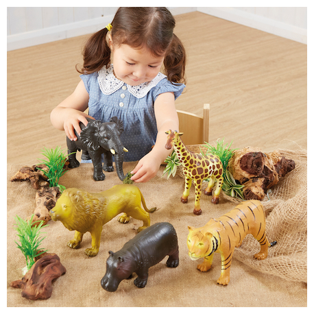 Lot d'animaux sauvages