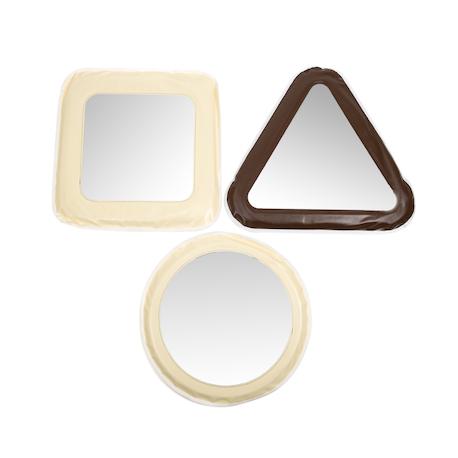 Miroirs moelleux à formes